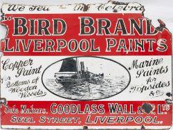 Bird Paints Liverpool