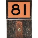 Southern Railway cast iron Bridge Plate 81. Recovered from the Exeter to Barnstable line.