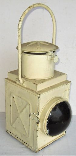 GWR Tail Lamp complete with BR interior. Good condition.