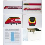 Virgin Trains Livery Display Boards x 4 measuring 33in x 23.25 in together with a Saver and Super