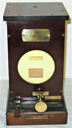 GWR Bakelite Lamp Indicator made by RE Thompson in good condition.