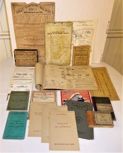 A collection of Railway Paperwork to include mostly GER technical booklets with LNER publications