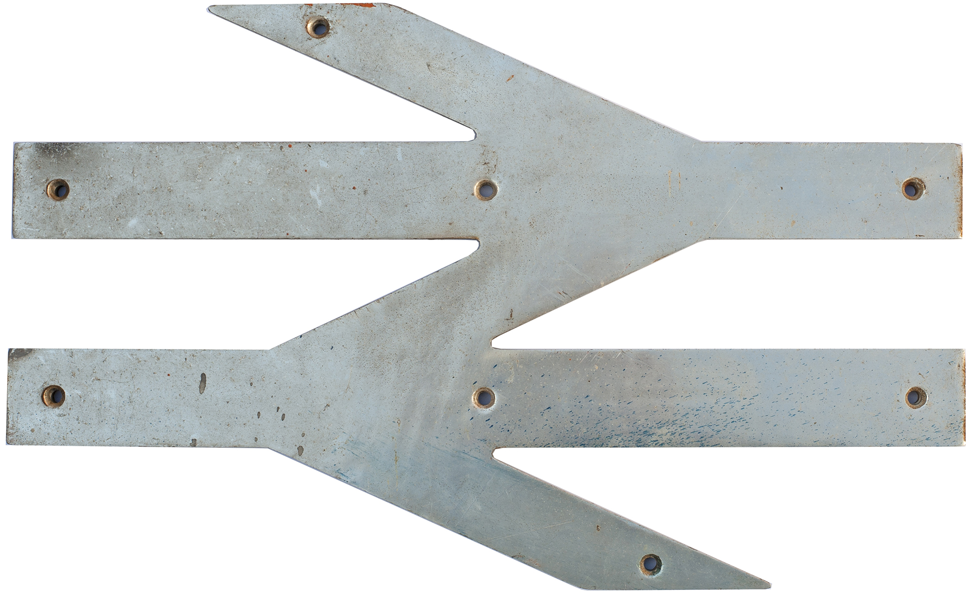 British Railways cabside DOUBLE ARROW as used on the LMR AM10 electric units that worked outer
