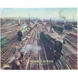 Poster BR(S) CLAPHAM JUNCTION by Terence Cuneo. Quad Royal 40in x 50in. In very good condition,