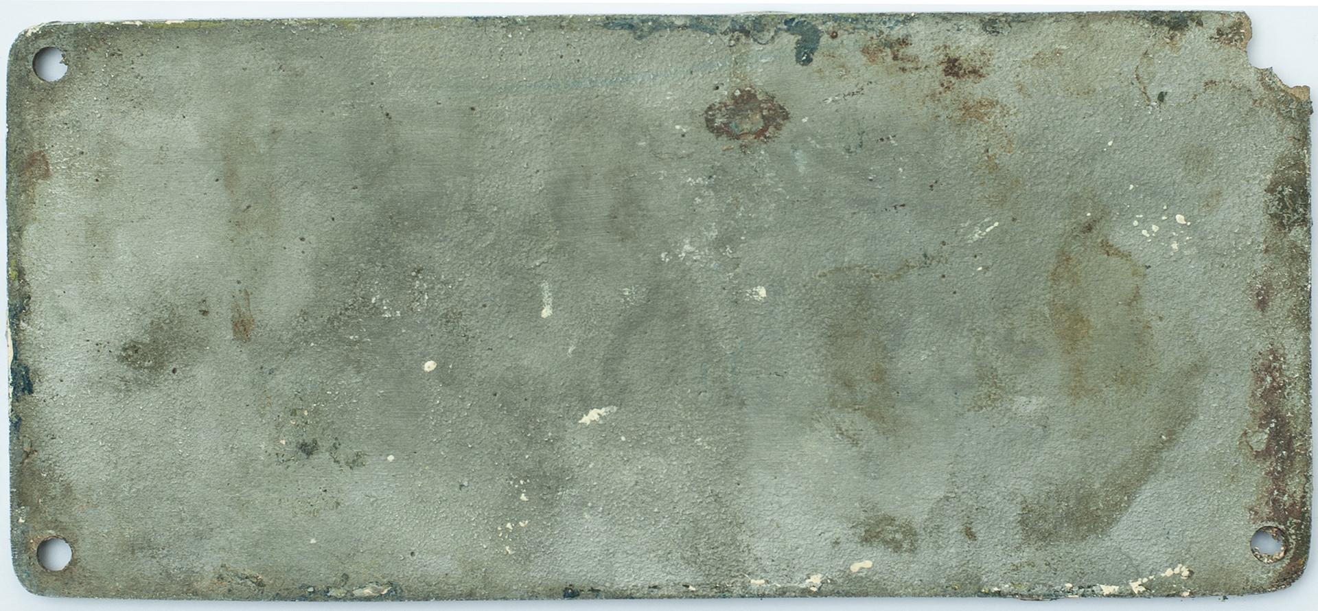 Worksplate THE ENGLISH ELECTRIC CO LTD STEPHENSON WORKS DARLINGTON ENGLAND No 3364/8407 1963 ex - Image 2 of 2