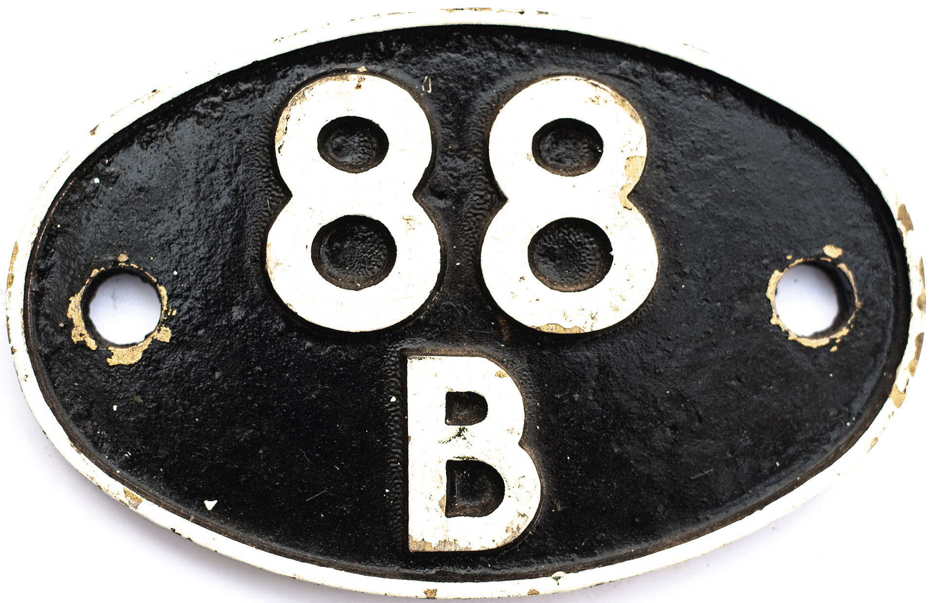 Shedplate 88B Cardiff East Dock 1950-1961, Cardiff Cathays 1961-1962 and Radyr 1962-1968. Face