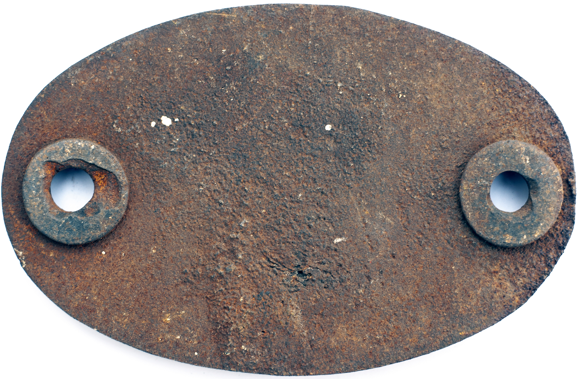 Shedplate 14A Cricklewood 1950 - 1963. In as removed condition with clear Derby casting bars. - Image 2 of 2