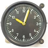 British Railway Class 43 HST Instrument Panel Mechanical Clock. In excellent working condition