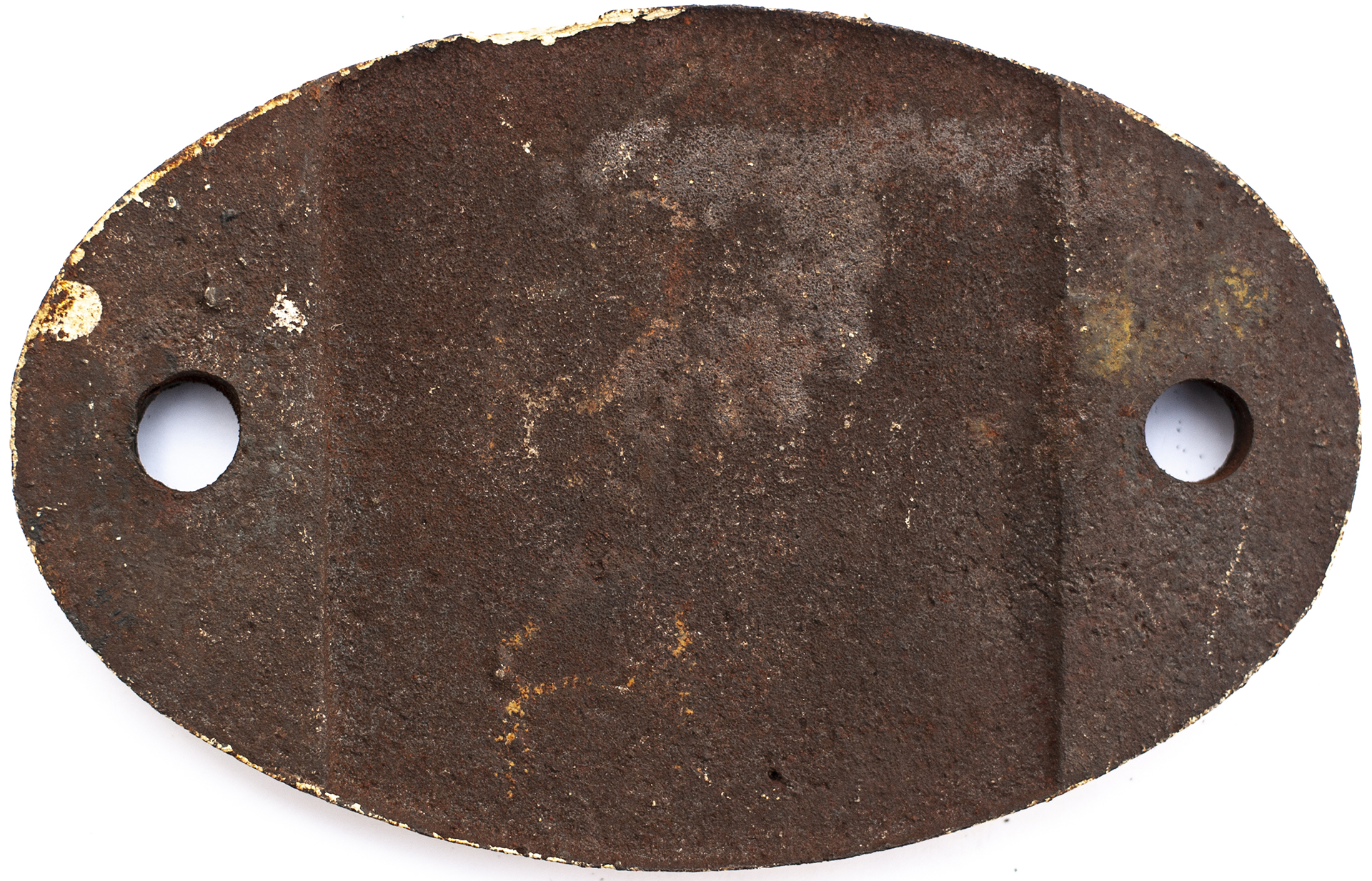 Shedplate 55A Leeds Holbeck 1957-1973 with a sub shed of Stourton. In as removed condition. - Image 2 of 2