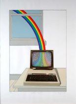 Patrick Hughes (British b.1939) Colour Process