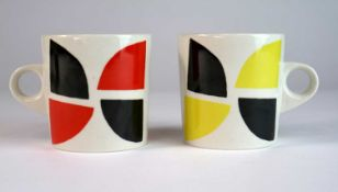 Terry Frost (British 1915-2003) Four Earthenware Mugs