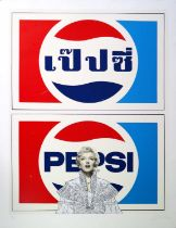Pakpoom Silaphan (Thai Contemporary) Marilyn on Pepsi