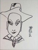 Albert Houtheusen (British-Dutch 1903-1979) Clown Studies