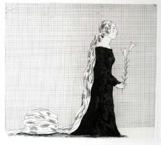 David Hockney (British b.1937) The Older Rapunzel