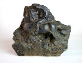 James McKenna (Irish 1933-2000) Running Horse Sculpture