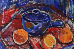 Nina Ross (British 20th Century) Still Life with Oranges