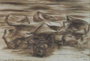 Hein Heckroth (German 1901-1970), Lunar Landscape