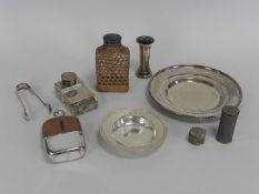 A silver 'Armada dish'