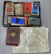 ORDNANCE SURVEY and other maps (box)