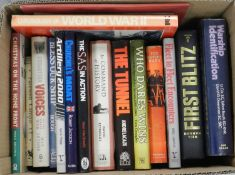 MOORHOUSE, Roger, Berlin at War, 2010. With other military books (3 boxes)