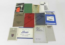 BRISTOL MERCURY AERO ENGINES, trade catalogue 1934, with similar brochures and catalogues on Bristol