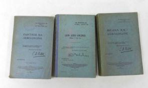 HANDBOOKS FOR PANTHER 11A Aero-Engine, 2nd edn. October 1932; Pegasus 11.M.3 Aero-Engine, 2nd edn.