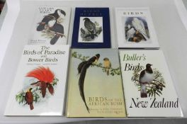 COOPER, William T, The Birds of Paradise and Bower Birds, folio 1977. In slipcase. With Buller's