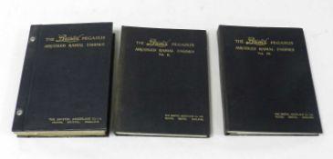 HANDBOOK OF THE BRISTOL PEGASUS Aircooled Radial Engines Types II-L & II-M. 3 vols circa 1936.
