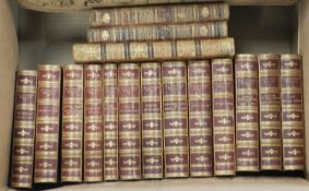 DICKENS, Charles, Works. Chapman & Hall, Charles Dickens edition c.1890, vols 2-14 only. Half