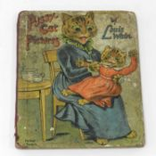 WAIN, Louis, Pussy-Cat Pictures. Small 4to, circa 1920. 8 pages including covers. Printed on thick