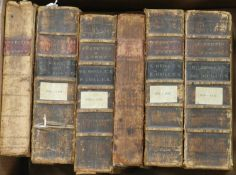 STATUTES AT LARGE. A broken run from 1757-1832, 20 vols. 18 are in full calf and 2 in half calf.
