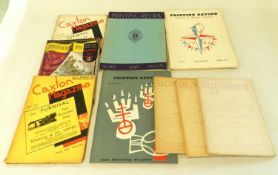 TYPOGRAPHICAL MAGAZINES. Signature, 14 issues (1947-1953). Monotype Recorder, 21 issues (1926-1964),
