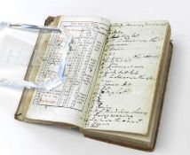 ANNOTATED DIARY OF THE WEATHER. Rider's British Merlin for 1771. With brief manuscript notes on
