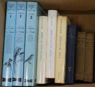 RUTGERS & NORRIS, Encyclopedia of Aviculture, 3 vols, 4to, 1970, 1972 & 1977. With HANCOCK & ELLIOT,