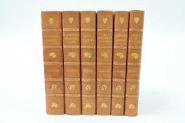 SURTEES, R S, Sporting novels. Bradbury, Agnew and Co., c.1890. 6 vols, hand coloured plates, half