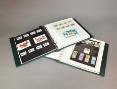 Five albums containing World Butterfly Mint stamps
