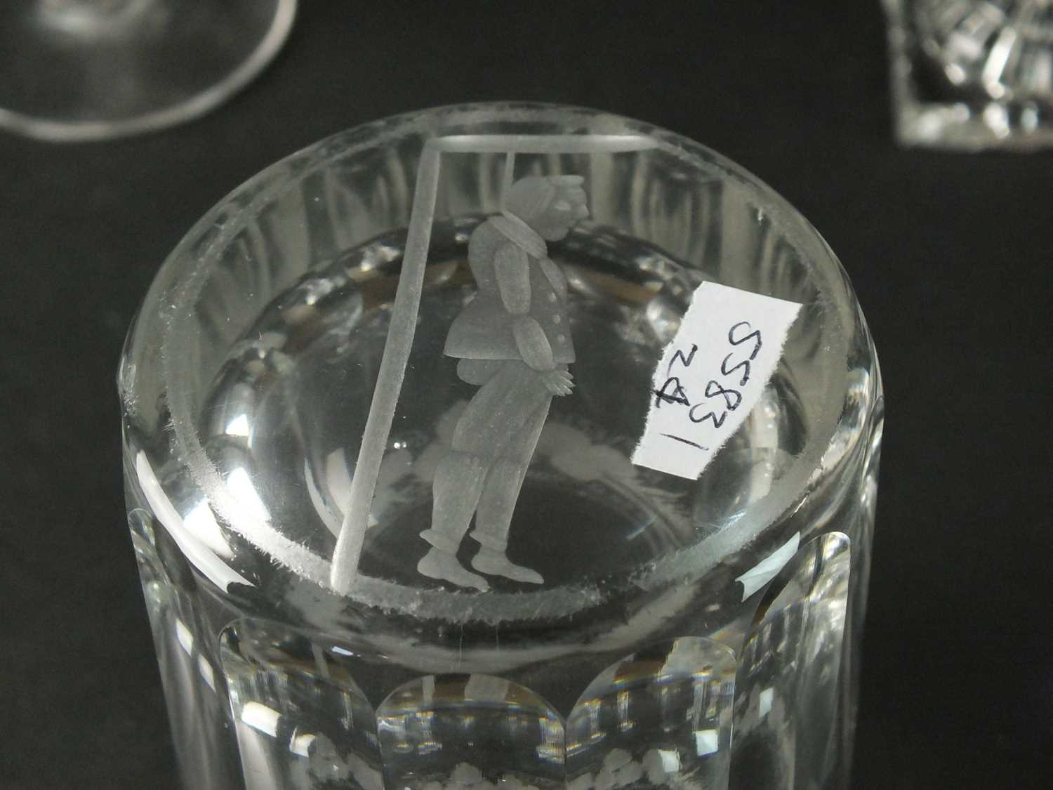 A group of George III drinking glasses - Image 2 of 2
