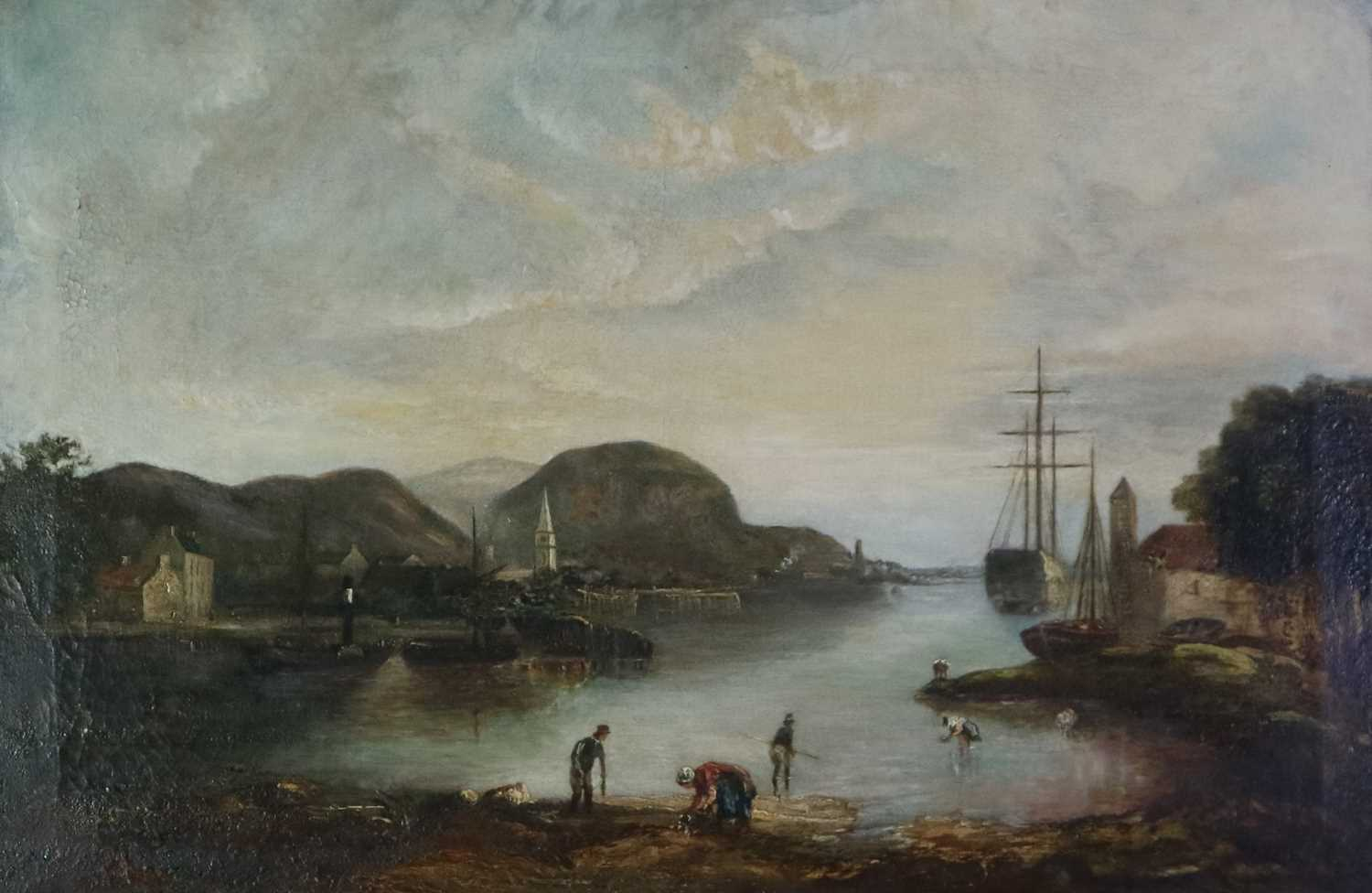 British School (19th Century) Cockle Pickers in a Bay - Image 5 of 5