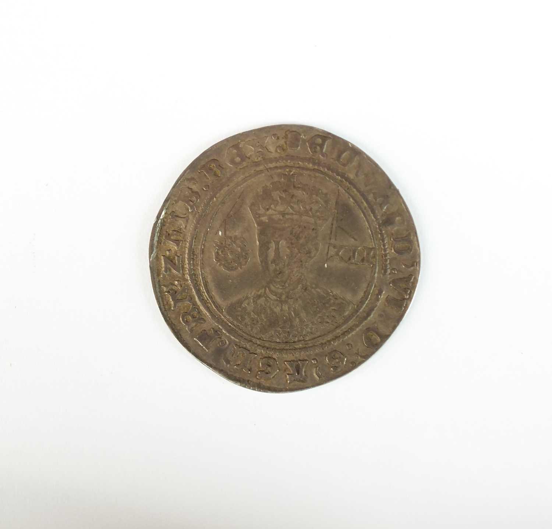 An Edward VI shilling