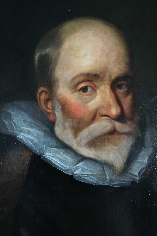 Follower of Van Der Helst (Netherlandish 17th Century), Portrait of a Gentleman oil on panel - Image 3 of 6