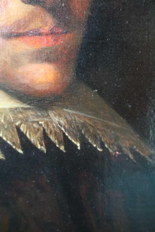 Manner of Marcus Gheeraerts II (17th Century) Portrait of a Gentleman oil on board - Image 8 of 11