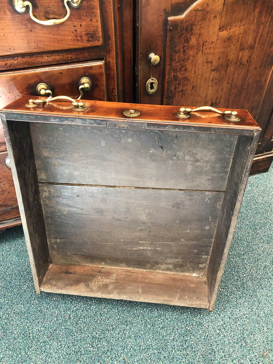 A late 18th century fruitwood or yew wood breakfront dresser, North Wales - Image 9 of 16