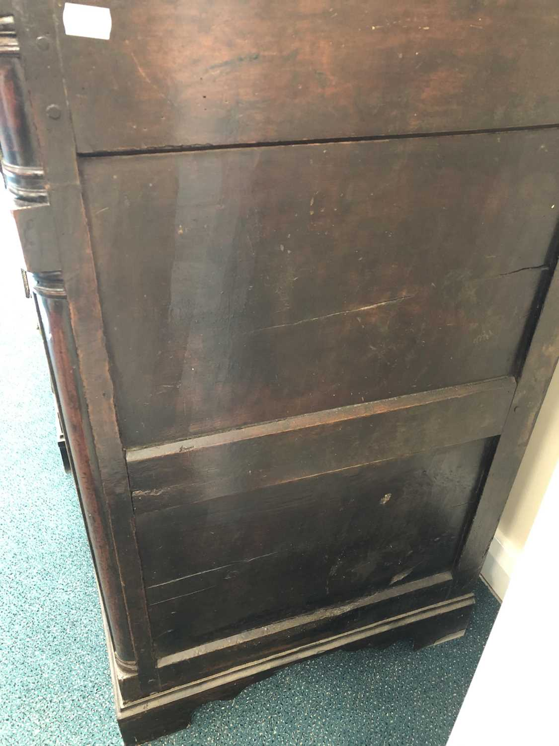 A late 18th century fruitwood or yew wood breakfront dresser, North Wales - Image 7 of 16