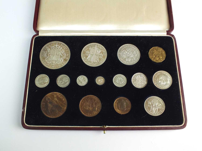United Kingdom Royal Mint George VI 1937 Coronation specimen coin set