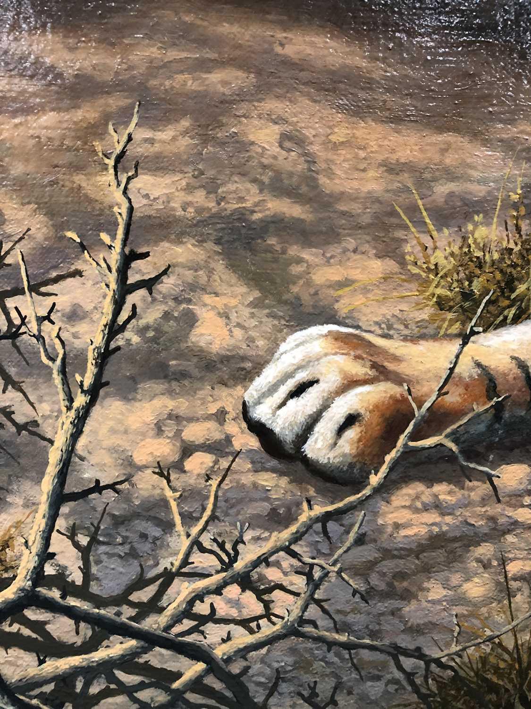 Adrian C Rigby (b.1962) A Tiger Resting - Image 7 of 8