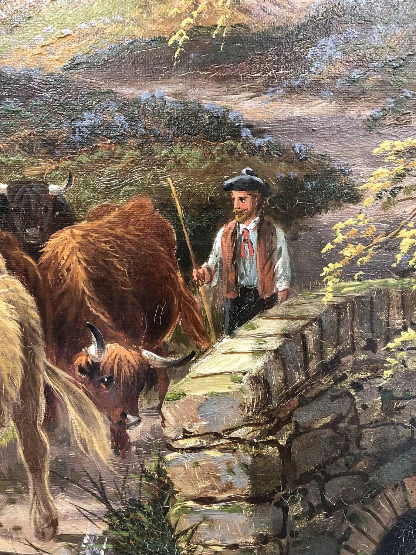 Albert Dunnington (1860-1928) The Road to Lochranza, Arran - Image 6 of 11