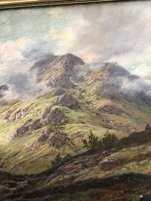 Albert Dunnington (1860-1928) The Road to Lochranza, Arran - Image 11 of 11