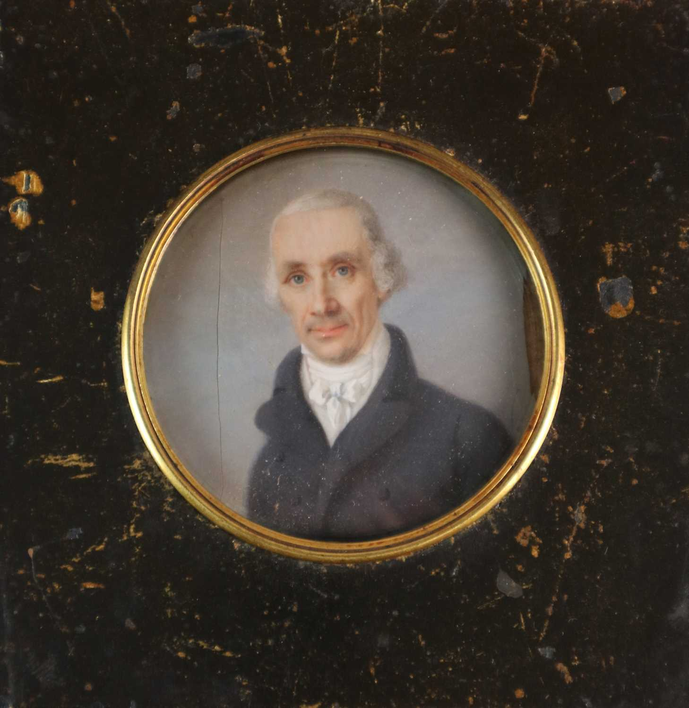 Joseph Heigel (German 1780-1837) A Pair of Portrait Miniatures - Image 3 of 5
