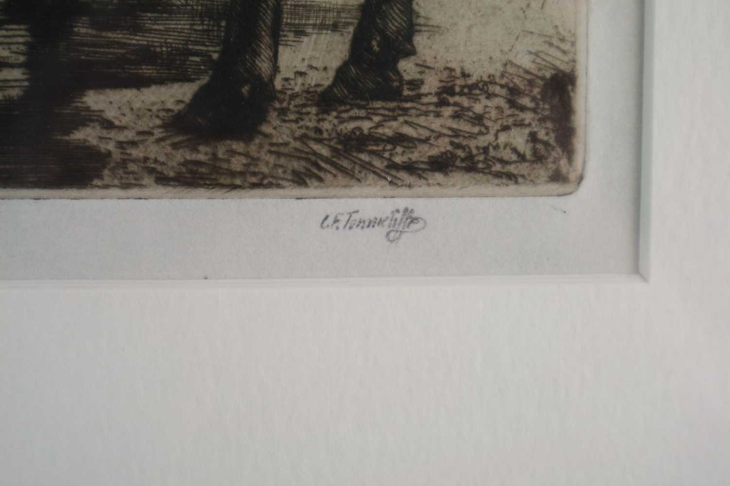 Charles Frederick Tunnicliffe OBE RA (1901-1979) The Water Trough with Copper Plate - Image 3 of 7