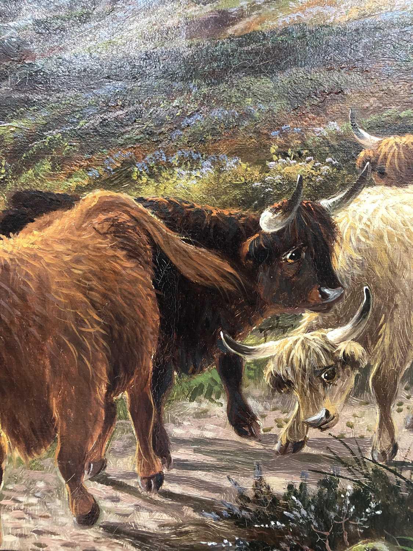 Albert Dunnington (1860-1928) The Road to Lochranza, Arran - Image 7 of 11